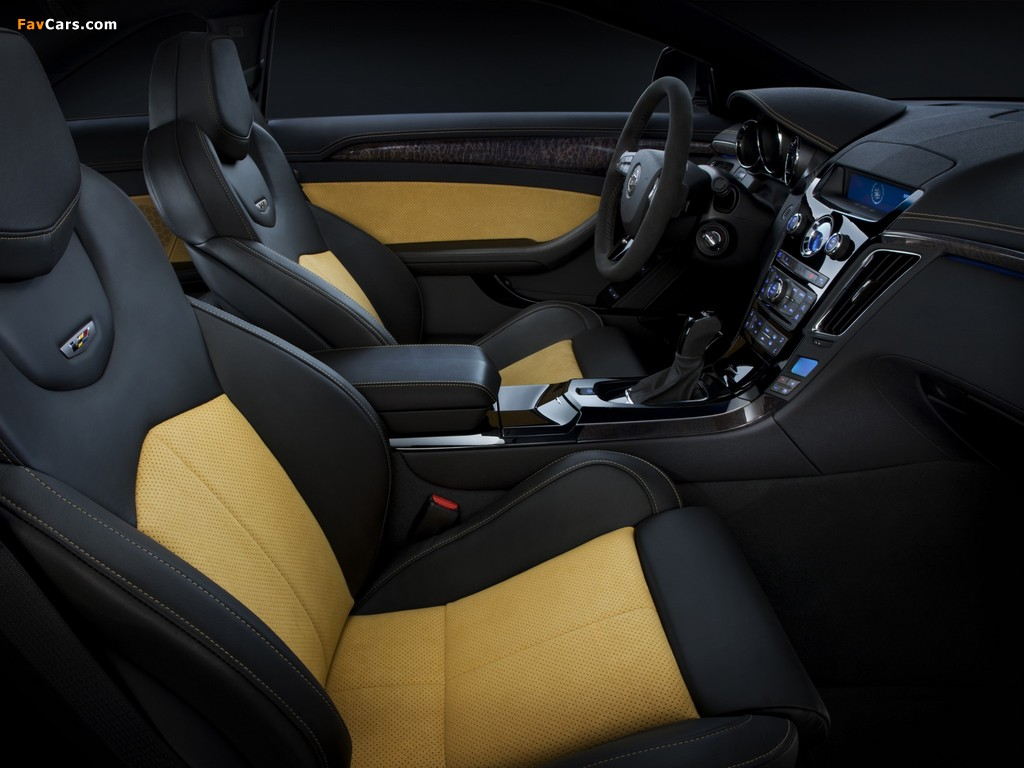 Cadillac CTS-V Coupe Black Diamond 2011 wallpapers (1024 x 768)