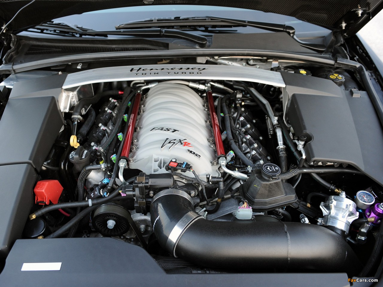 Hennessey Cadillac VR1200 Twin Turbo Coupe 2012 pictures (1280 x 960)