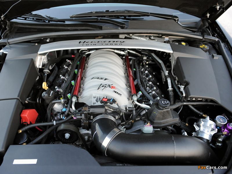 Hennessey Cadillac VR1200 Twin Turbo Coupe 2012 pictures (800 x 600)