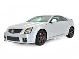 Cadillac CTS-V Coupe Silver Frost Edition 2013 images