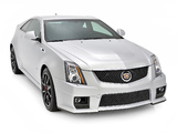 Cadillac CTS-V Coupe Silver Frost Edition 2013 pictures