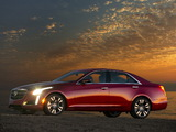 Cadillac CTS Vsport 2013 wallpapers