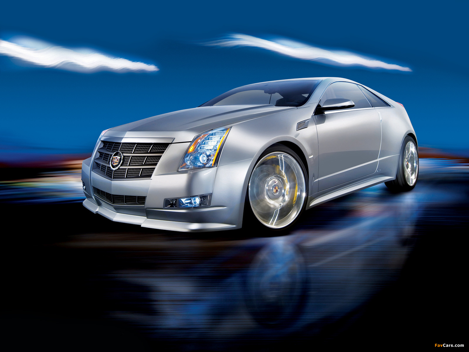 Images of Cadillac CTS Coupe Concept 2008 (1600 x 1200)