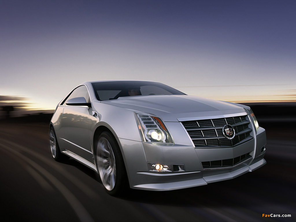 Images of Cadillac CTS Coupe Concept 2008 (1024 x 768)