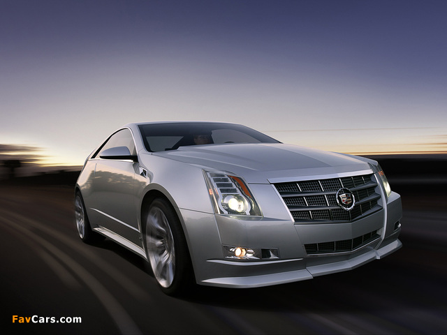 Images of Cadillac CTS Coupe Concept 2008 (640 x 480)