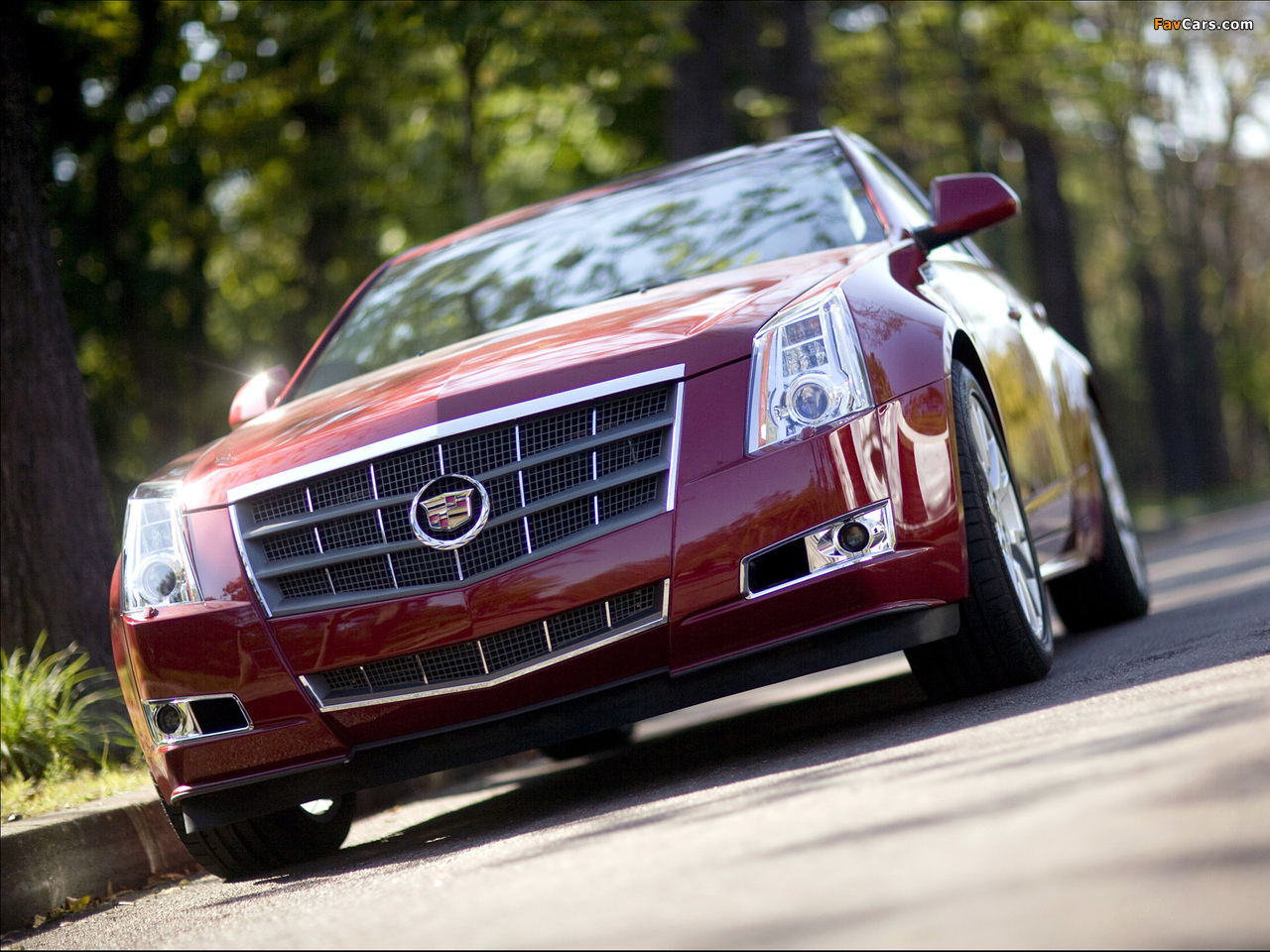 Images of Cadillac CTS Sport Wagon 2009 (1280 x 960)