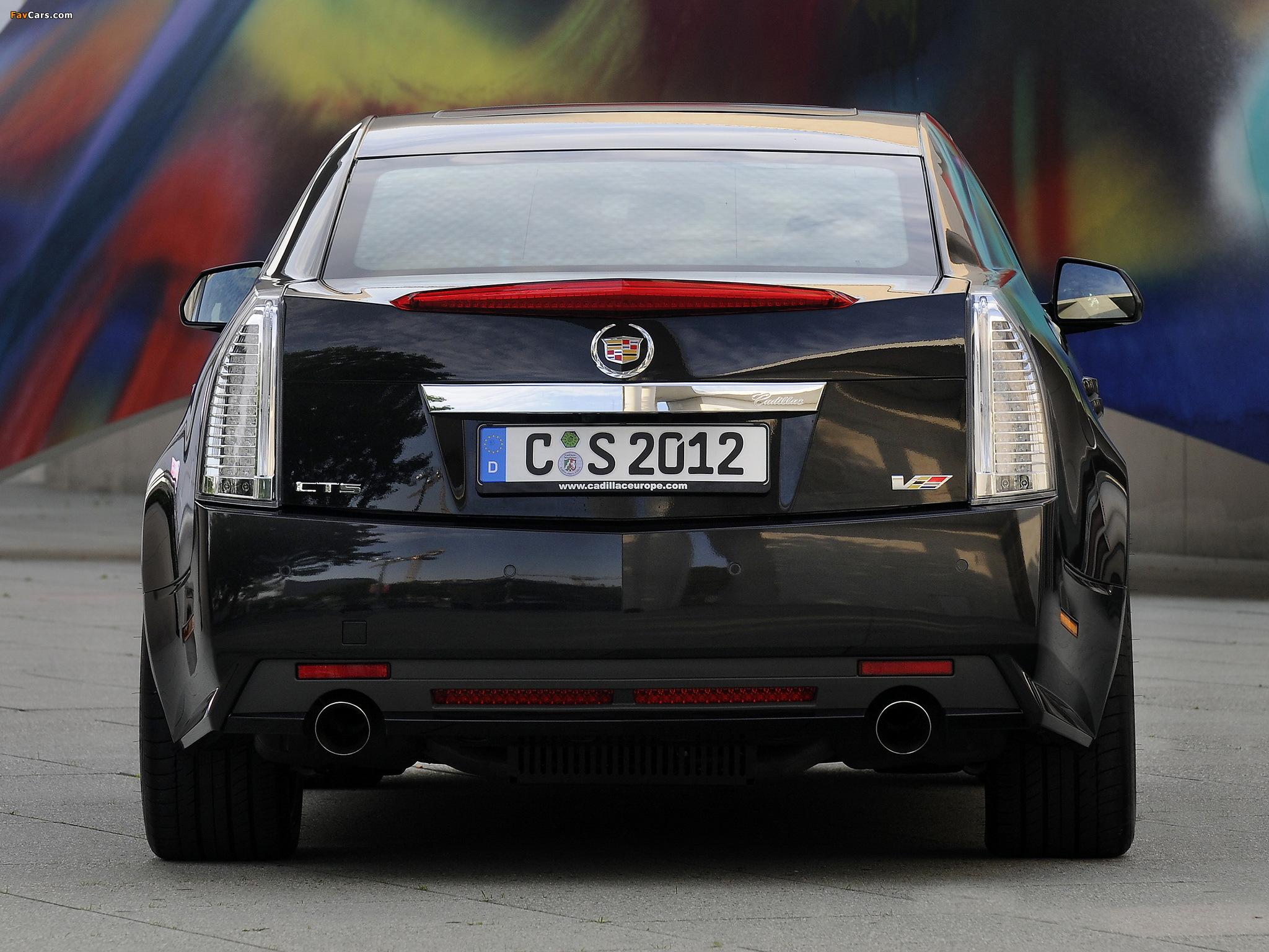Images of Cadillac CTS-V EU-spec 2010 (2048 x 1536)