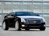 Images of Cadillac CTS Coupe 2010