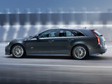 Images of Cadillac CTS-V Sport Wagon 2010