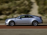 Images of Cadillac CTS-V Coupe EU-spec 2010