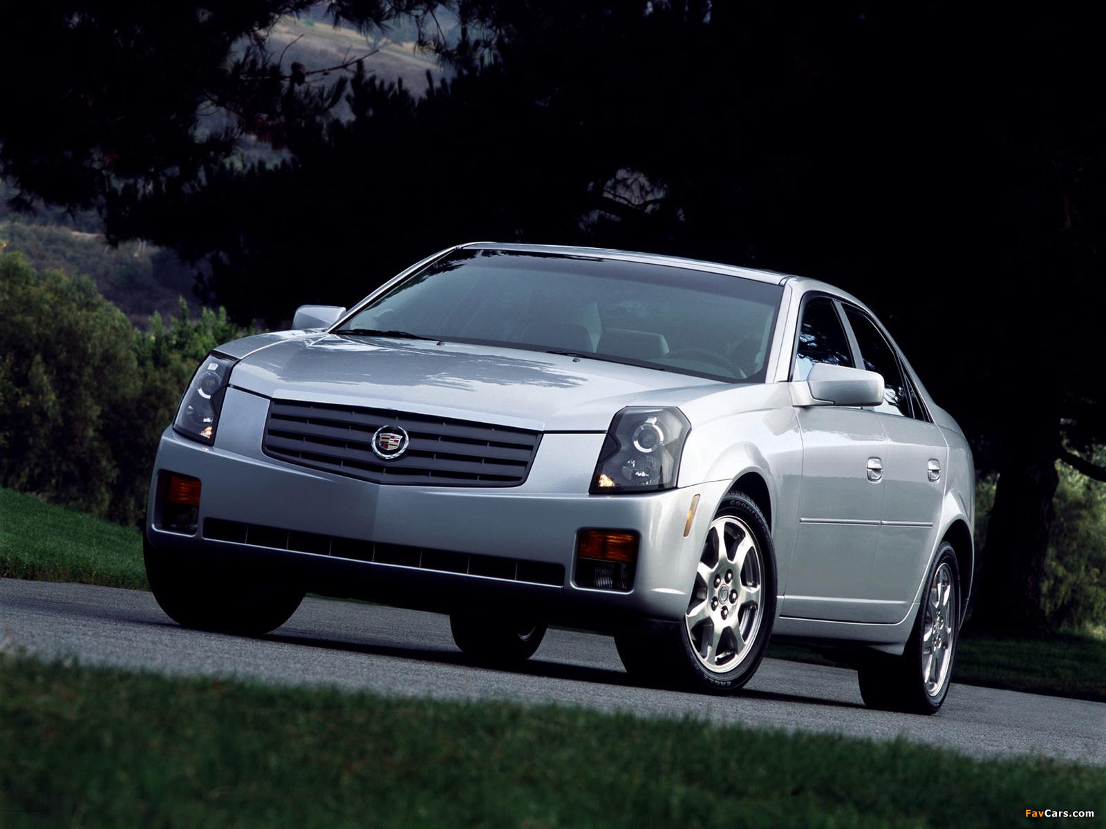 Photos of Cadillac CTS 2002–07 (1600 x 1200)