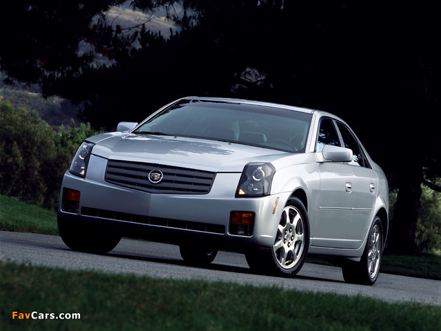 Photos of Cadillac CTS 2002–07 (640 x 480)