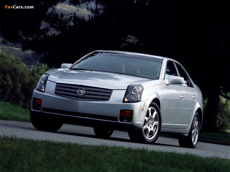 Photos of Cadillac CTS 2002–07 (800 x 600)