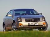 Photos of Cadillac CTS UK-spec 2005–07