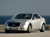 Photos of Cadillac CTS EU-spec 2007