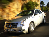 Photos of Cadillac CTS EU-spec 2007