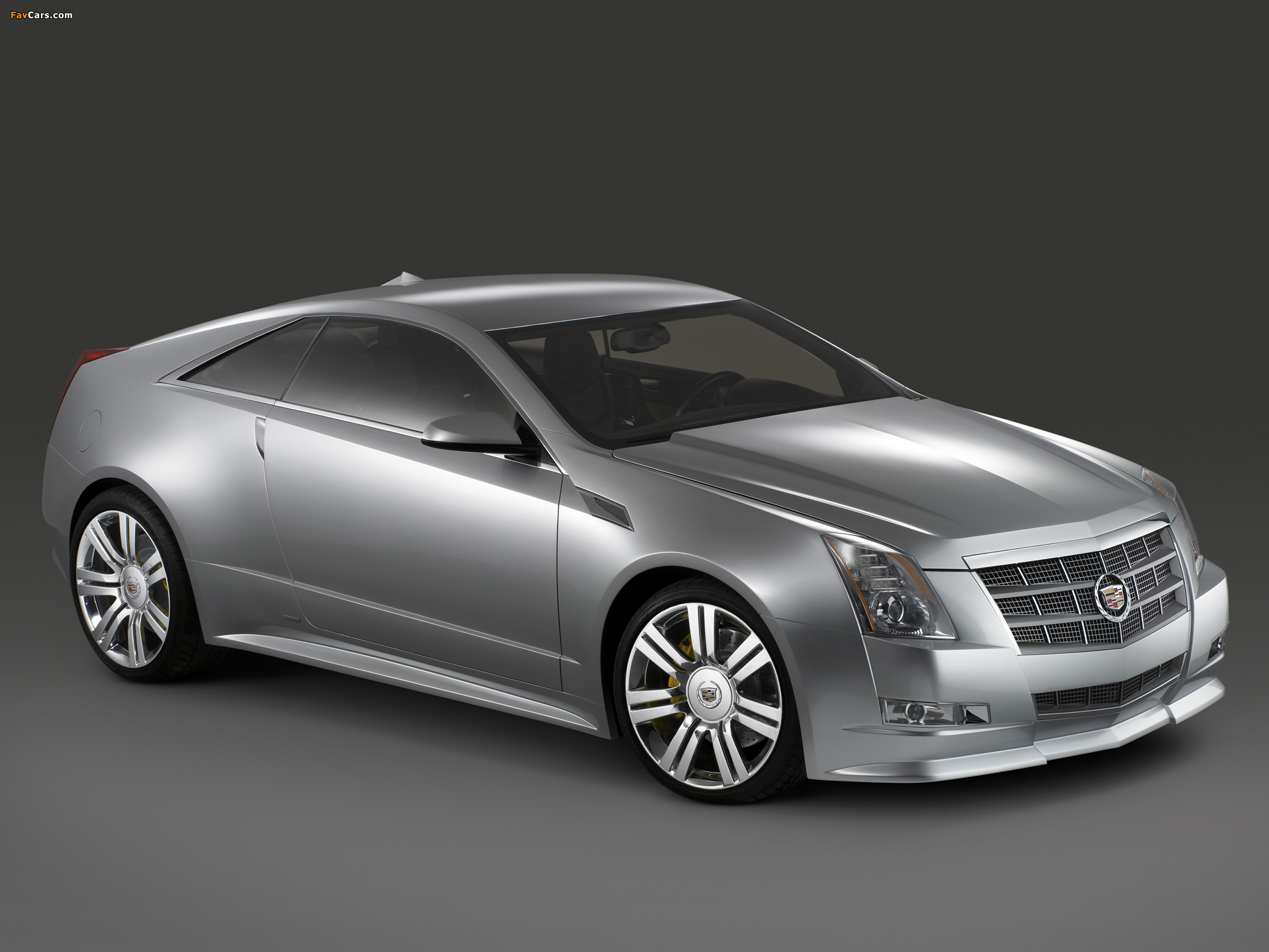 Photos of Cadillac CTS Coupe Concept 2008 (2048 x 1536)