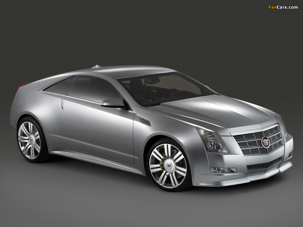 Photos of Cadillac CTS Coupe Concept 2008 (1024 x 768)