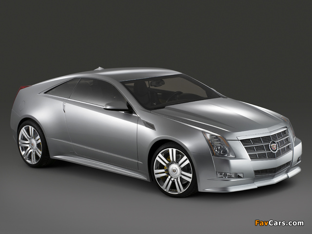 Photos of Cadillac CTS Coupe Concept 2008 (640 x 480)