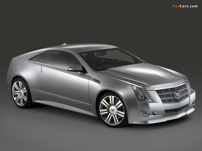 Photos of Cadillac CTS Coupe Concept 2008 (800 x 600)