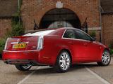 Photos of Cadillac CTS UK-spec 2008