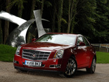Photos of Cadillac CTS UK-spec 2008