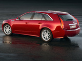 Photos of Cadillac CTS Sport Wagon 2009