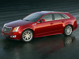 Photos of Cadillac CTS Sport Wagon 2009