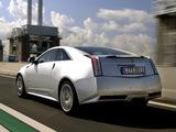 Photos of Cadillac CTS-V Coupe EU-spec 2010