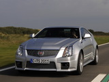 Photos of Cadillac CTS-V Coupe EU-spec 2010