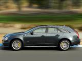 Photos of Cadillac CTS-V Sport Wagon 2010