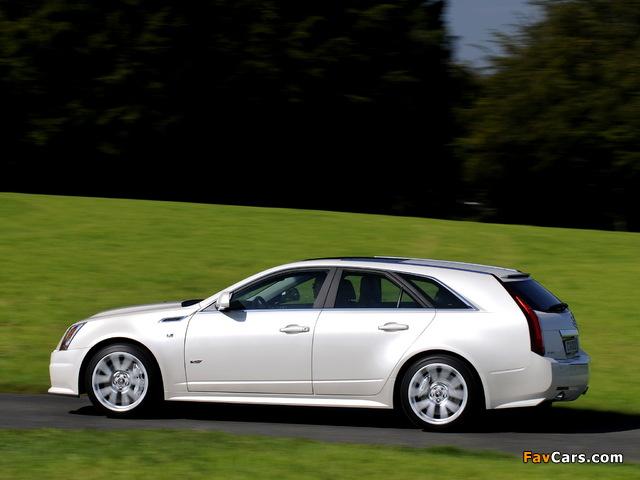 Photos of Cadillac CTS-V Sport Wagon EU-spec 2010 (640 x 480)