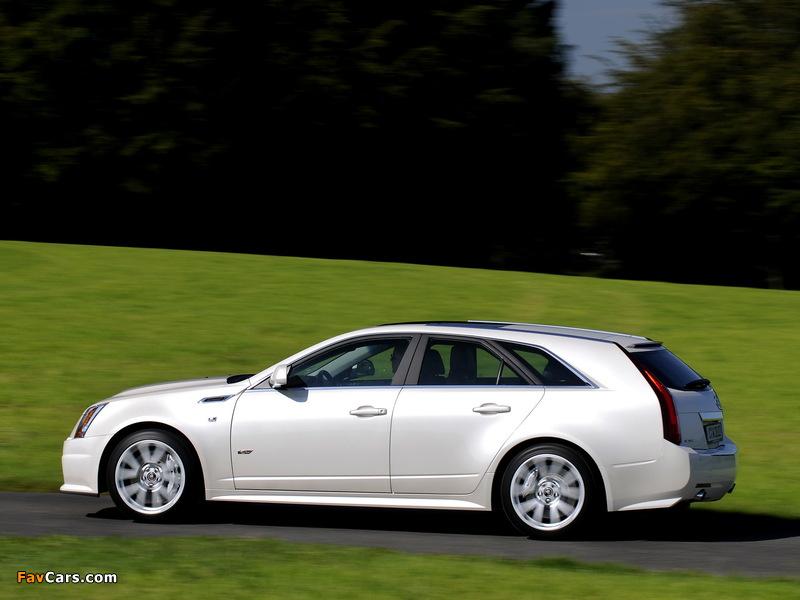 Photos of Cadillac CTS-V Sport Wagon EU-spec 2010 (800 x 600)