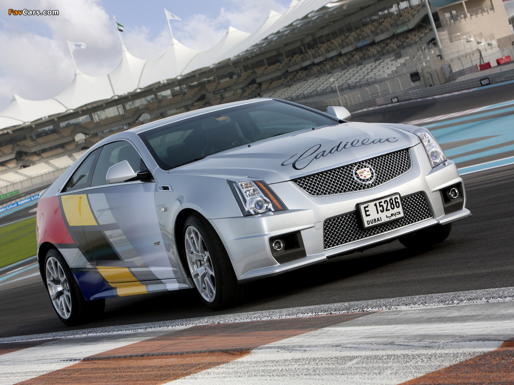 Photos of Cadillac CTS-V Coupe Challenge 2011 (1024 x 768)