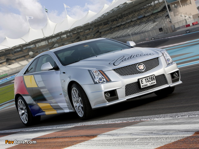 Photos of Cadillac CTS-V Coupe Challenge 2011 (640 x 480)