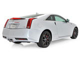 Photos of Cadillac CTS-V Coupe Silver Frost Edition 2013