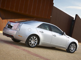 Pictures of Cadillac CTS UK-spec 2008