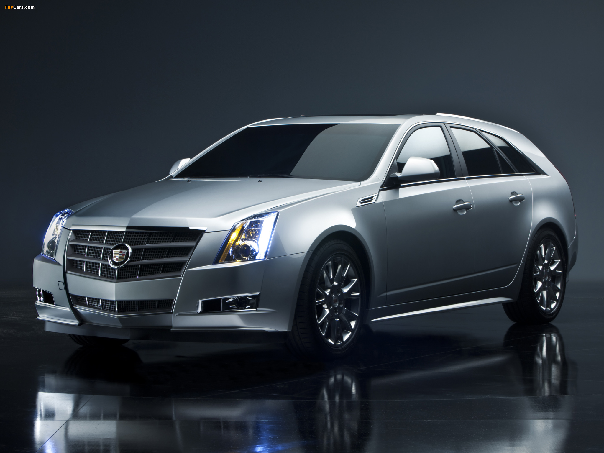 Pictures of Cadillac CTS Sport Wagon 2009 (2048 x 1536)