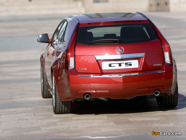 Pictures of Cadillac CTS Sport Wagon 2009 (640 x 480)