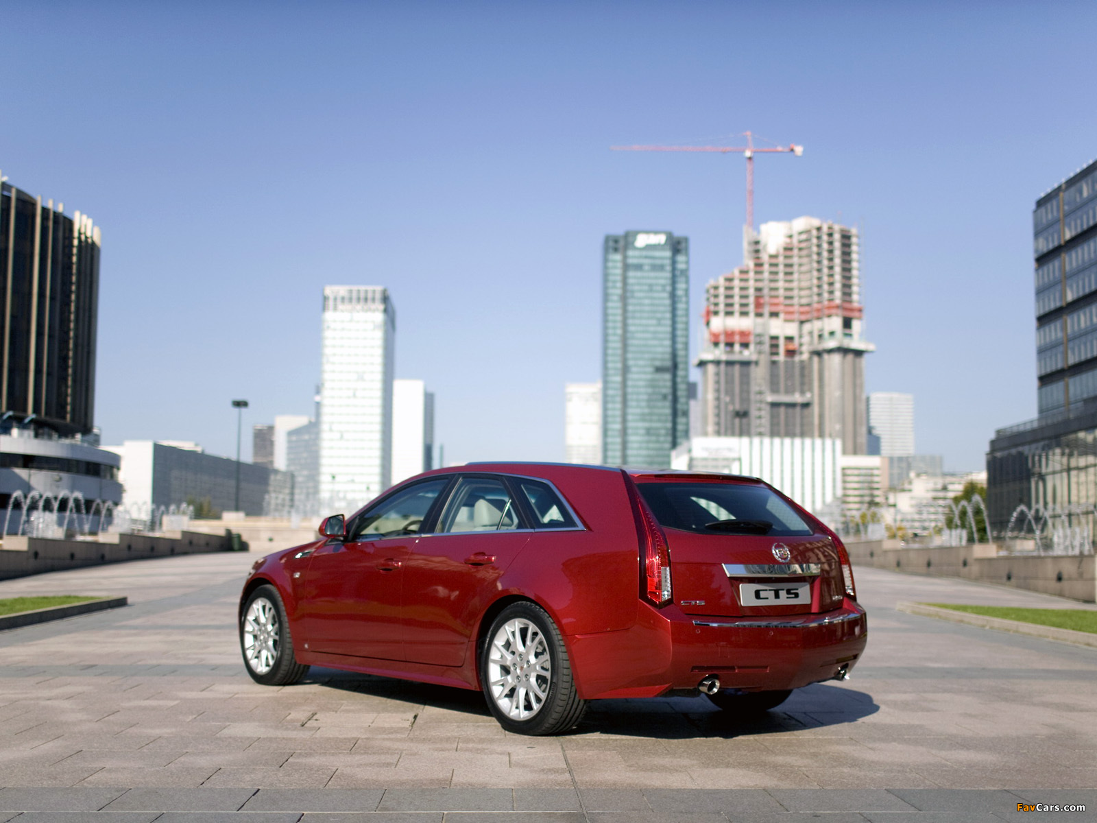 Pictures of Cadillac CTS Sport Wagon 2009 (1600 x 1200)