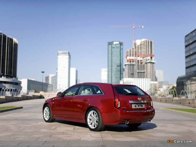 Pictures of Cadillac CTS Sport Wagon 2009 (800 x 600)