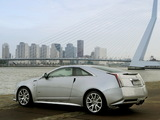 Pictures of Cadillac CTS-V Coupe EU-spec 2010