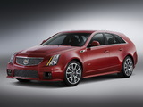 Pictures of Cadillac CTS-V Sport Wagon 2010