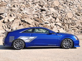 Pictures of Geiger Cadillac CTS-V Coupe Blue Brute 2011