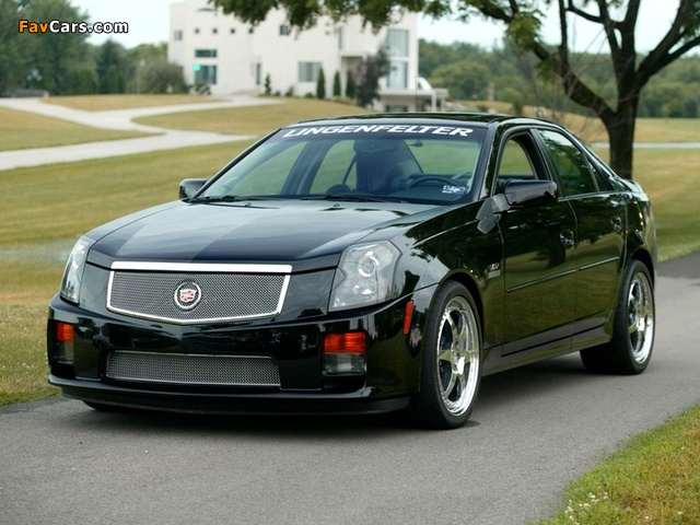 Lingenfelter Cadillac CTS-V 2004–07 wallpapers (640 x 480)