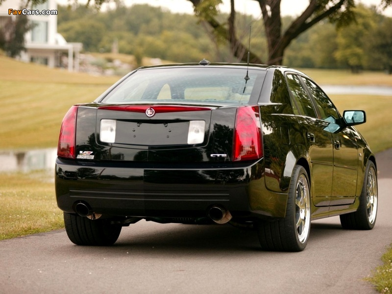 Lingenfelter Cadillac CTS-V 2004–07 wallpapers (800 x 600)