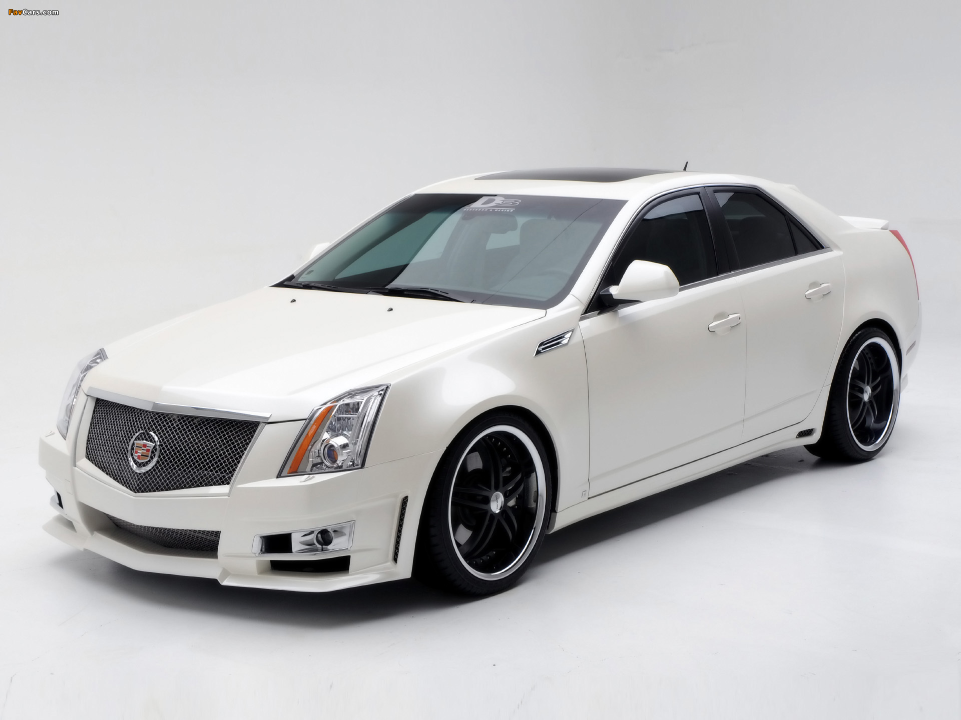 Cadillac CTS by D3 2007 wallpapers (1920 x 1440)
