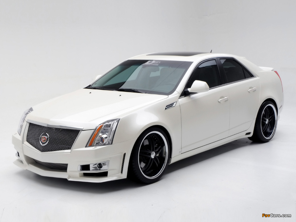 Cadillac CTS by D3 2007 wallpapers (1024 x 768)