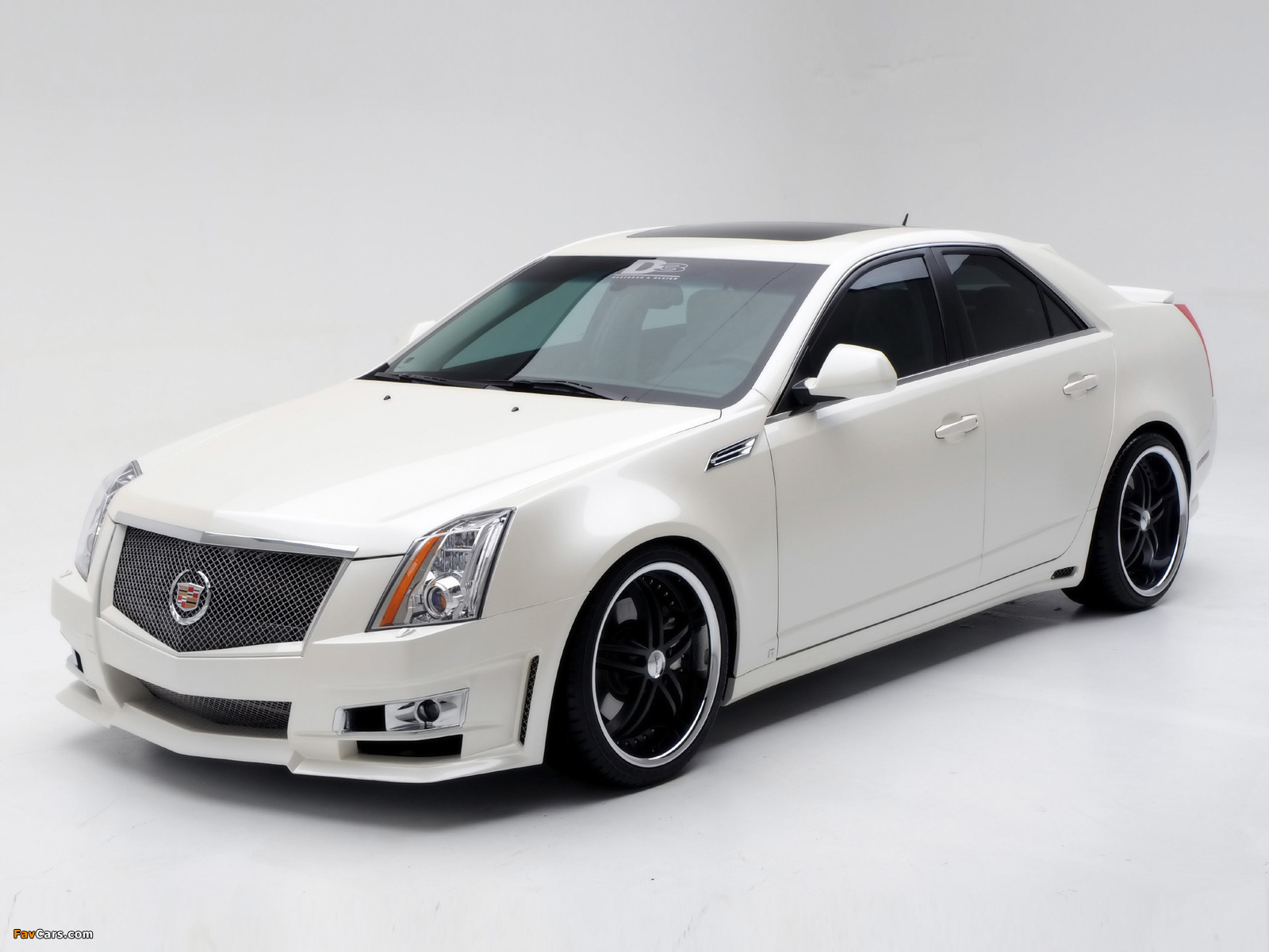 Cadillac CTS by D3 2007 wallpapers (1600 x 1200)