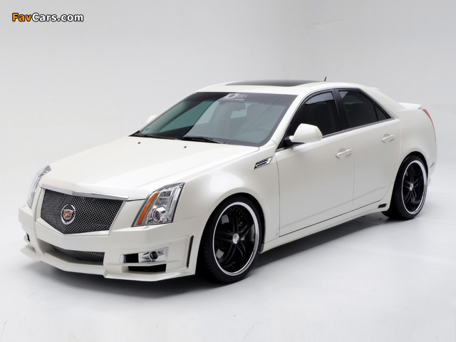 Cadillac CTS by D3 2007 wallpapers (640 x 480)